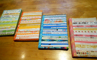 Fabric Notebooks for Sew South Swap | by anneelizablog