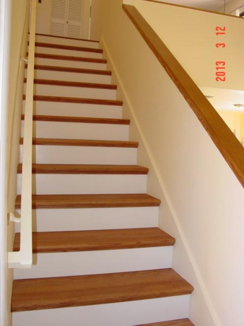 Solid Oak Stair Treads 002   One Piece Solid Oak Stair Tread ...