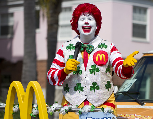 Creepy Ronald Mcdonald | by San Diego Shooter