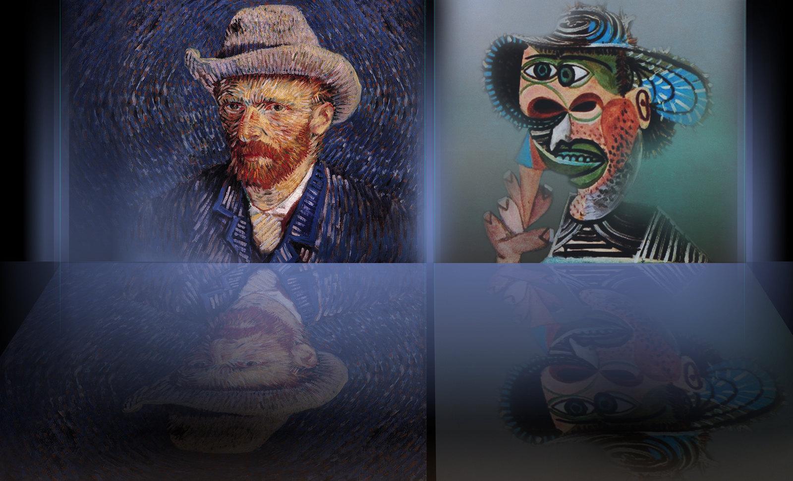 76van Gogh_Picasso