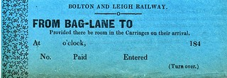 Bolton & Leigh Ticket | by ian.dinmore