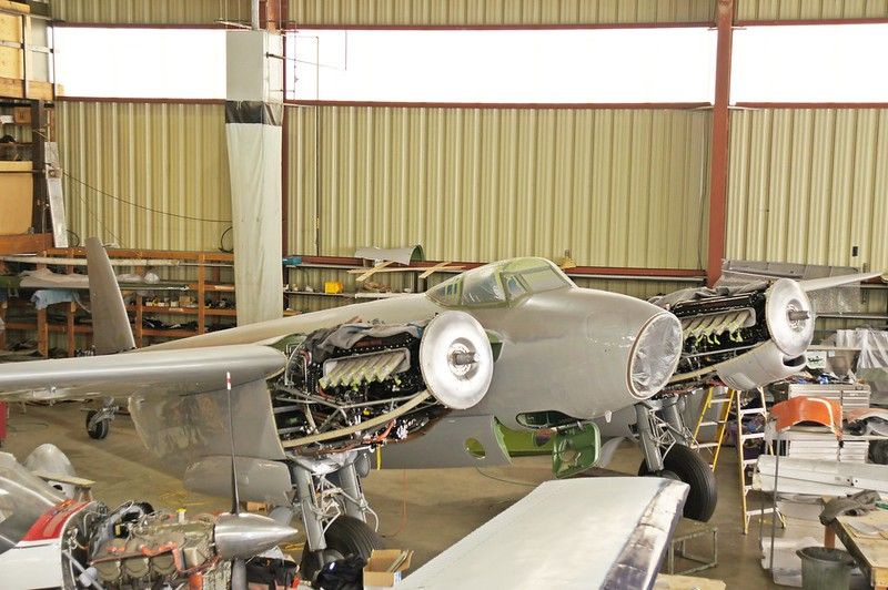 2013 Update deHavilland Mosquito Restoration, 1