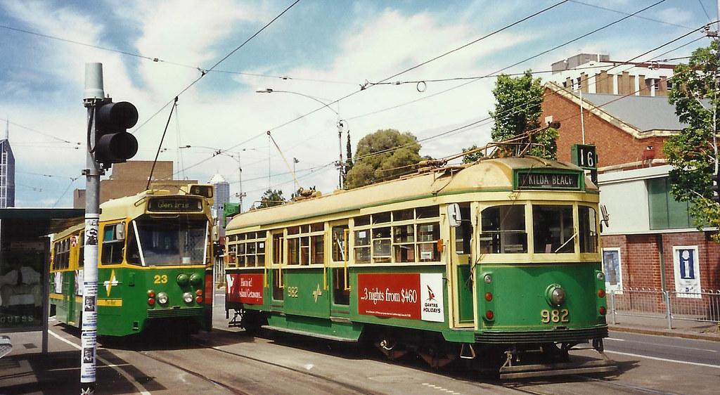 Melbourne University - Swanston Street by Andrew Surgenor