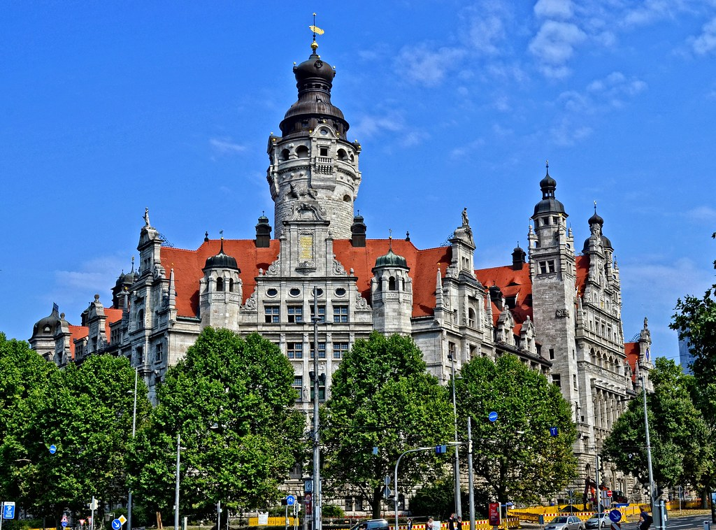 Leipzig Germany The New Townhall Hans Vaupel Flickr
