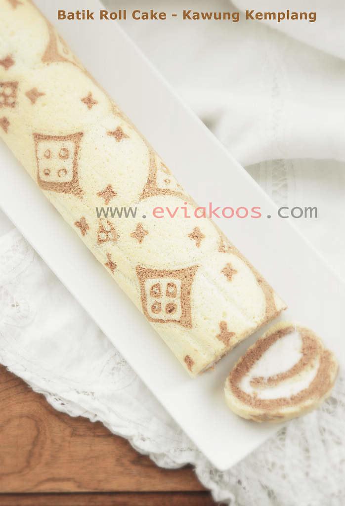 Batik Roll Cake Motif Kawung Kemplang Evia N W Koos Flickr