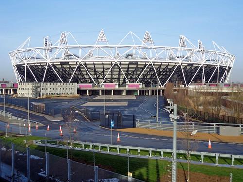 Olympic Stadium Jan 2013 | by diamond geezer