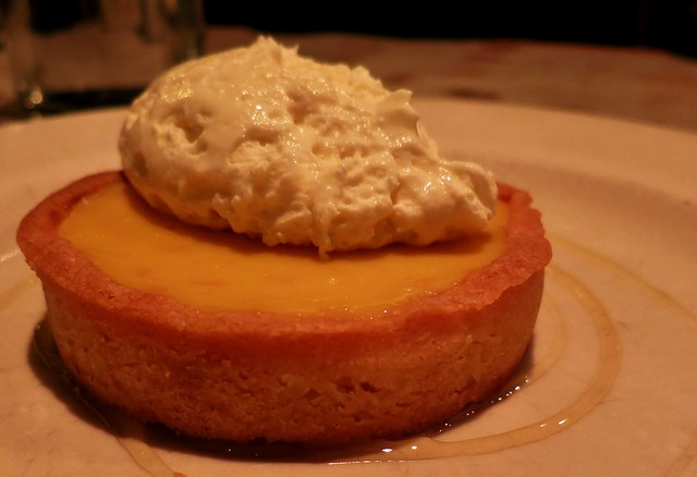 Passionfruit-Orange Tart