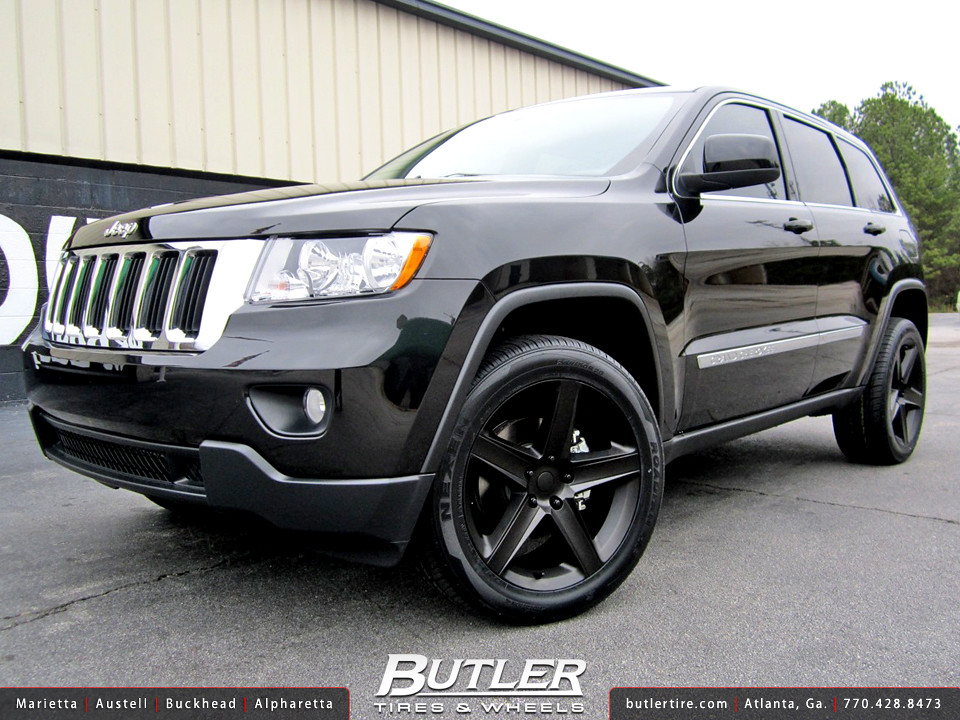 Jeep Grand Cherokee With 22in Srt8 Wheels Additional Pictu Flickr