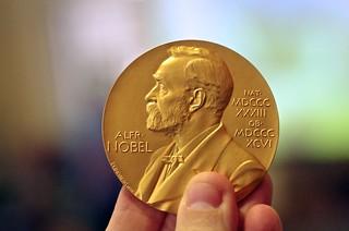 Nobel Prize Medal in Chemistry   by AlphaTangoBravo / Adam Baker