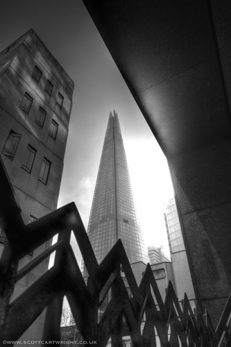 The Shard Black & White