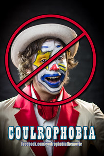 """""""Coulrophobia"""" Teaser Poster   by VBuckley.com"""
