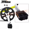 186-203 STRIDA 16吋LT版折疊單車(碟剎)消光芥末黃色2013年版4