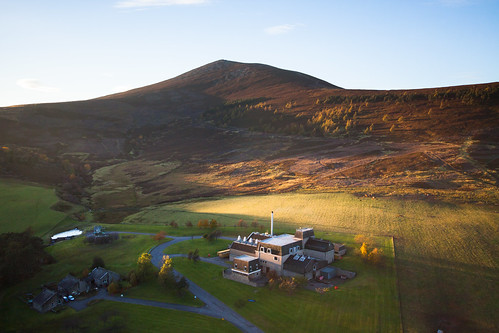 sunset scotland highlands unitedkingdom keith aerial whisky paragliding distillery moray strathspey benrinnes