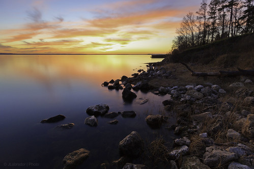 blue sunset red sky usa lake reflection water colors canon landscape photography rocks texas dusk bank livingston lakelivingston canon1022 60d lakelivingstonstatepark