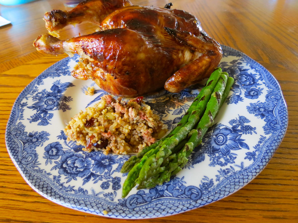 America S Test Kitchen Roast Cornish Game Hen With Cous Co