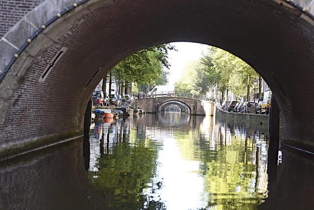 Canals a Amsterdam / Channels in Amsterdam / Grachten in Amsterdam