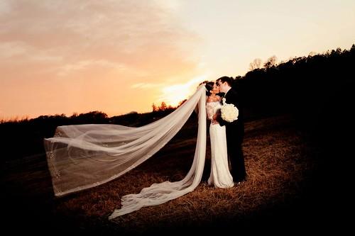 Flora Corner Farm, Mechanicsville, bride and groom