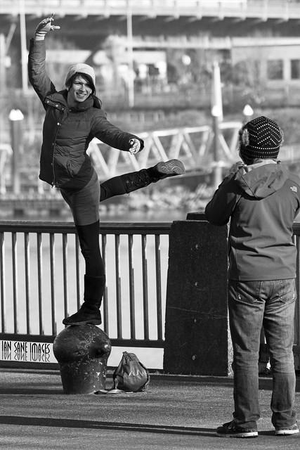 Urban Bollard Dancing