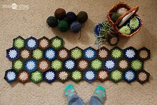Hexagon progress as of Saturday 2/2