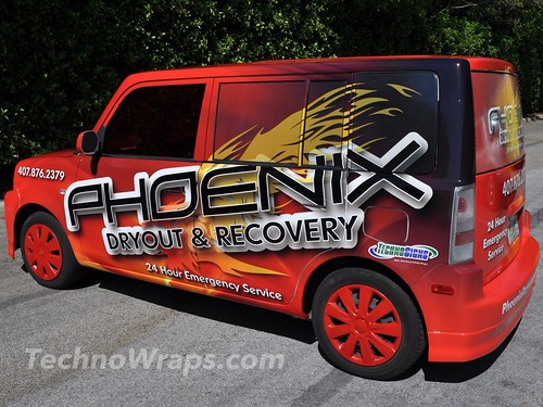 Scion vehicle wrap