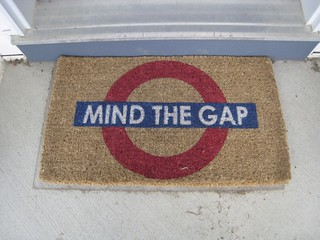 Mind the gap | by davebloggs007