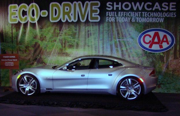 2012 Canadian International Auto Show Eco Drive Showcase Fisker Karma