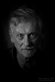 Dad --- B&W Portrait Series | by Peter Bower