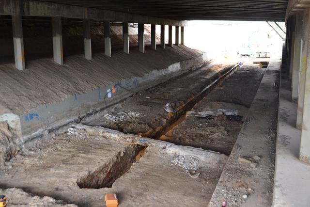 Anzac Highway Bridge work by 85trainfan