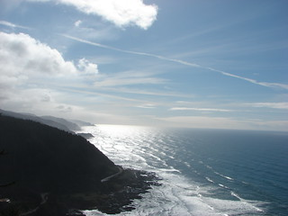 Looking south from Cape Perpetua
