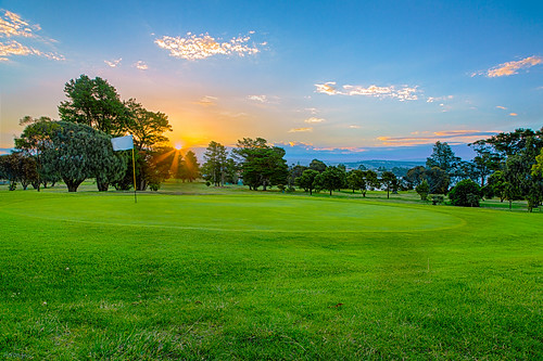 sunset color tree green swansea canon golf tasmania hdr highdynamicrange tasmanian canonef24105mmf4lisusm canon5dmark3