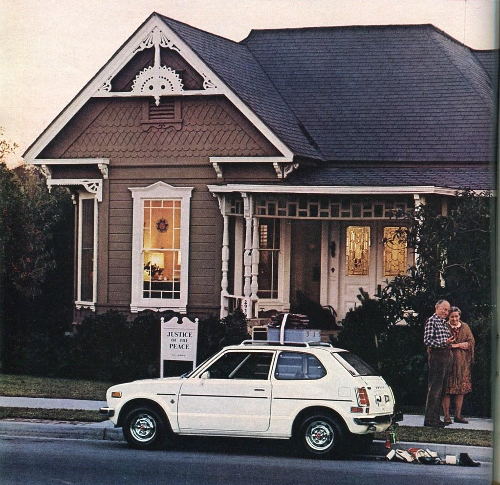 1973 Honda Civic Advertisement Playboy May 1973   1973 ...