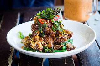 Crispy Basil Duck, $22.90: Korn Thai, Crows Nest. Sydney Food Blog Review | by insatiablemunch