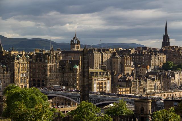 UK - Scotland - Edinburgh - Views from Calton Hill