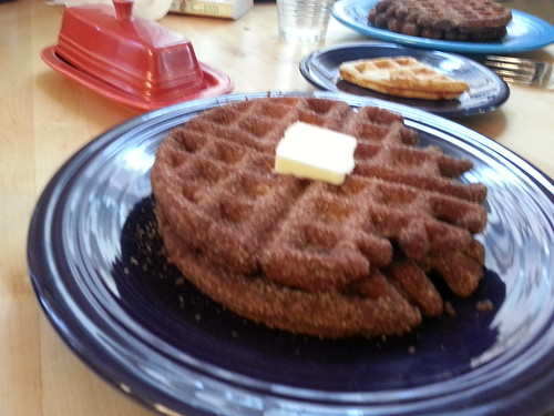 Churros Waffles
