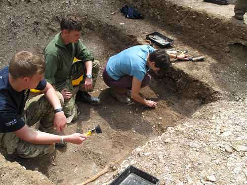 Excavating a Saxon grave | by Wessex Archaeology