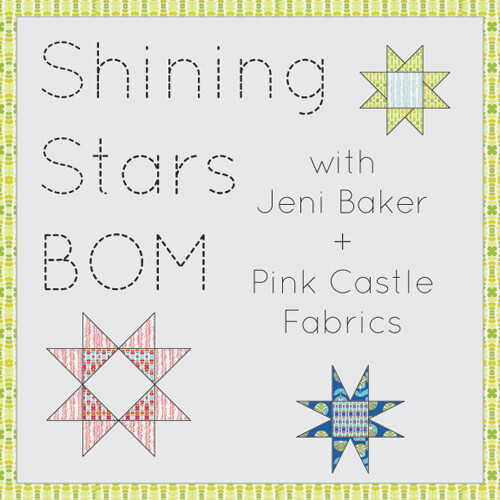 Shining Stars Block of the Month | by Jeni Baker | In Color Order