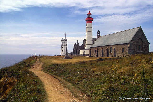 Abbacy and lighthouse of Saint-Mathieu - Brittany - France