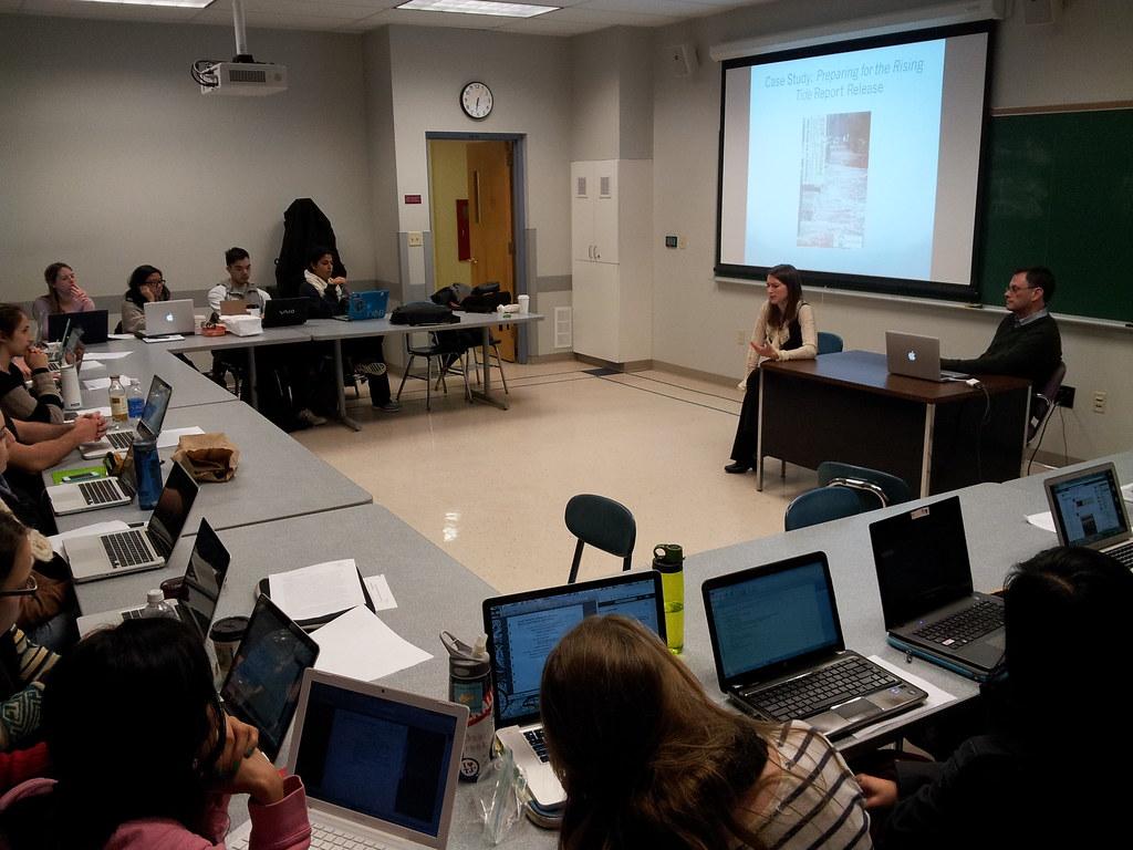 The Modern College Classroom | Featuring my BU New Media stu… | Flickr