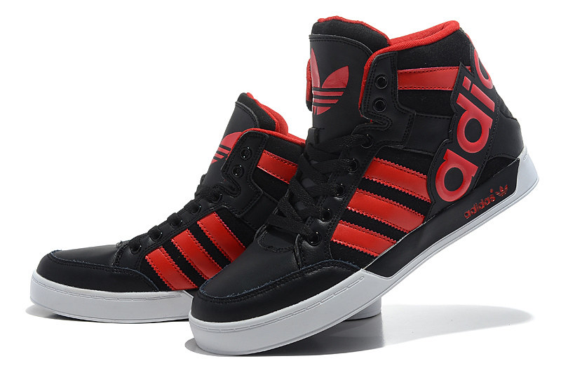 Adidas Hard Court Hi Big Logo Black White_2 | jeremy scott