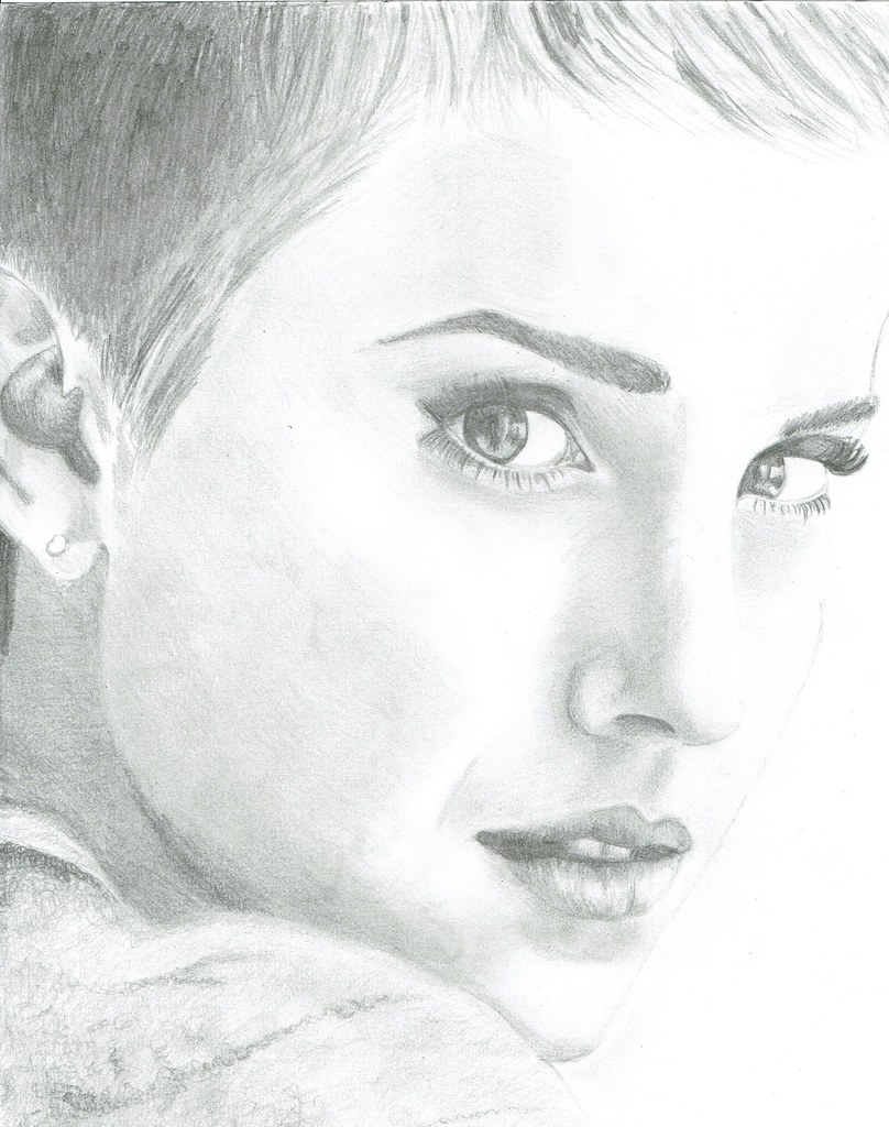 Emma watson pencil drawing again not my best in terms of flickr