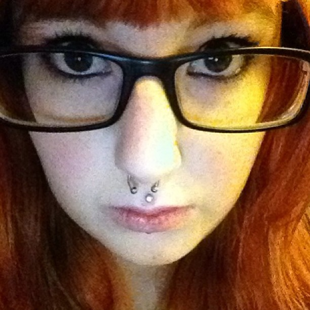 Got My Septum Pierced It S Super Crooked Because It S All Flickr