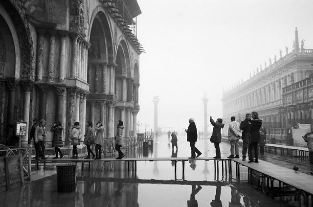 Piazza San Marco, Venezia, Jan. 2013