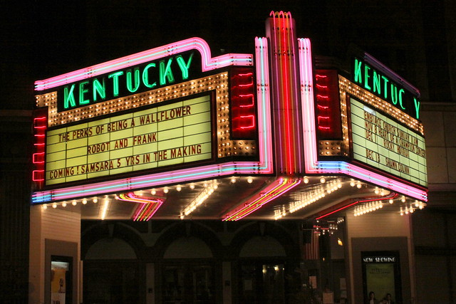 Kentucky Theater Marquee - Downtown Lexington