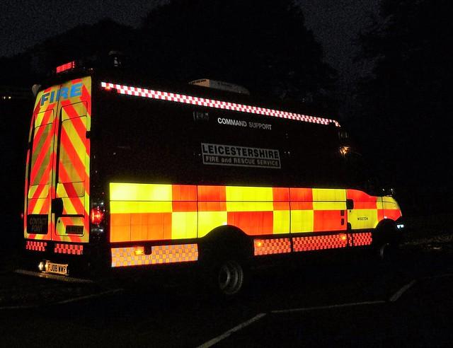 Oakham School Sport Fire 2009 Oakham Rutland Leicestershire Fire and Rescue Service
