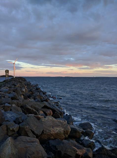 Tahkoluoto Breakwater Sunset