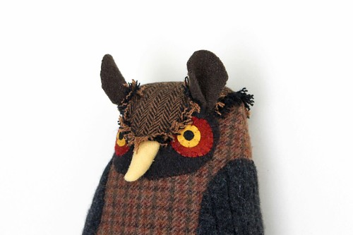 dark brown owl | by Mimi K
