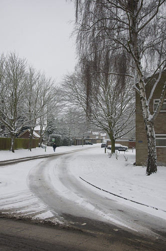 Snow In Bury St Edmunds 21-1-2013 | by Martin Pettitt
