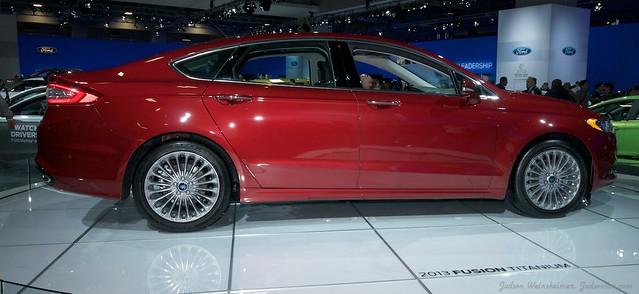 2013 Washington Auto Show - Upper Concourse - Ford 1