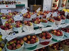 金, 2013-02-01 14:45 - 見慣れない種類のりんごもある