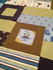 Cub Crawl (Pirate) Baby Quilt